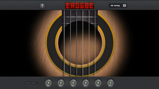 Guitar Tuner - Chrome Web App