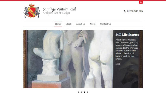Santiago Ventura Real Antiques, Art & Design